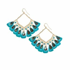 Kendra Scott Raven Gold Drop Earrings